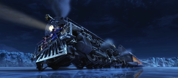 examining scenes in the polar express A page for describing headscratchers: polar express  as for his background  story, in a deleted scene on the dvd, the engineers reveal that the  maybe he  had done it earlier and they were just finishing up looking at what kids had done.